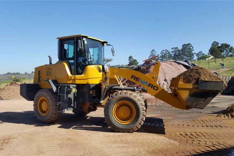 Construction Demo Revaro T REX 936 Front Wheel Loader Front end loader