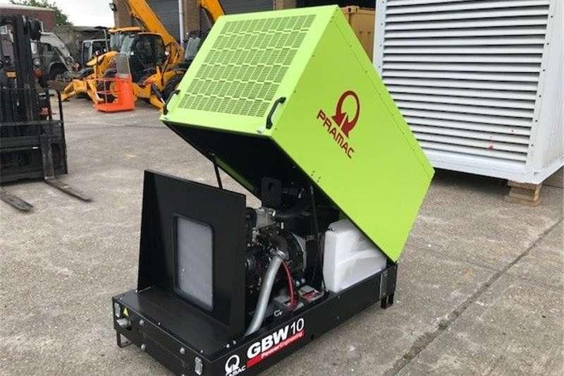 Diesel generator Pramac gbw 10kva perkins home diesel generators (a Generator