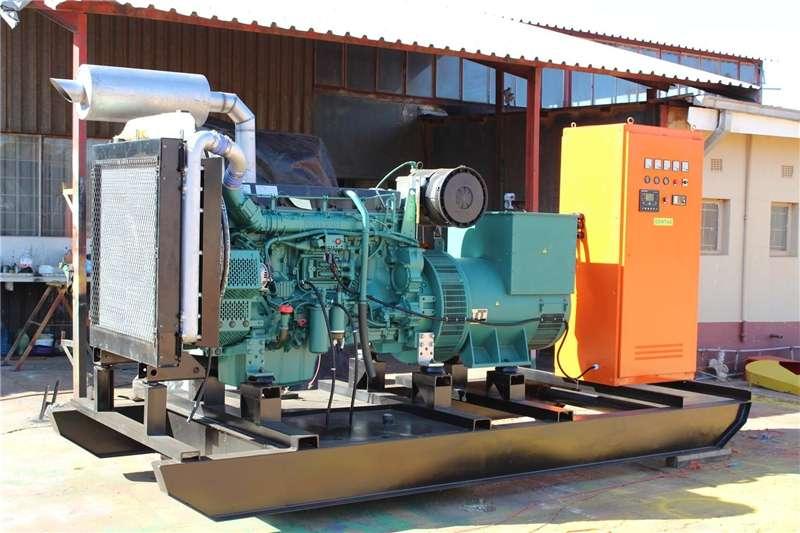 Diesel generator VOLVO PENTA Key Start Generator, Open Type Generator