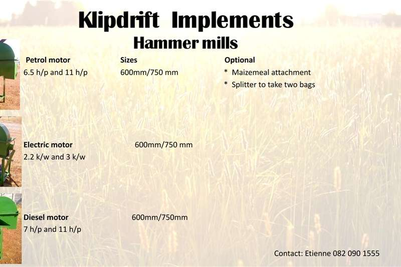 Diesel hammer mills Hammermills for sale Hammer mills