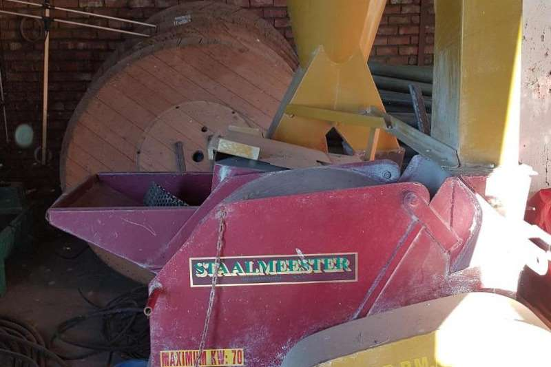 Staalmeester Electrical hammer mills Hammermeul Hammer mills