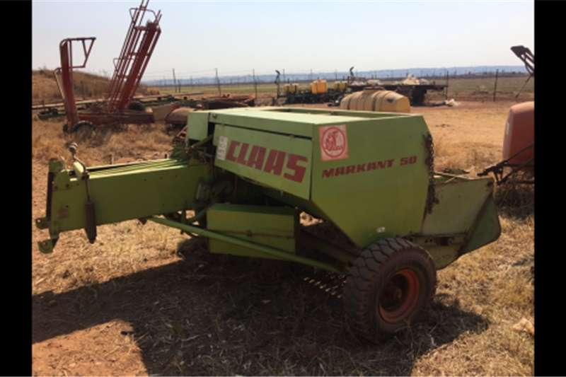 Balers Claas Markant 50 Baler Hay and forage