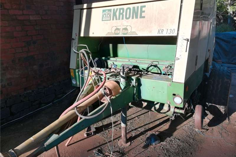 Hay and Forage Balers Great Buy! Krone KR130 Round baler 1,2m bales