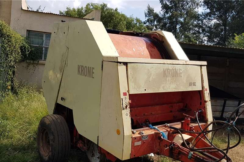 Balers KR 160 Krone round Baler for sale Hay and forage