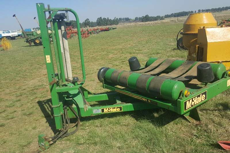 Balers McHale Bale Wrapper 991 L Hay and forage