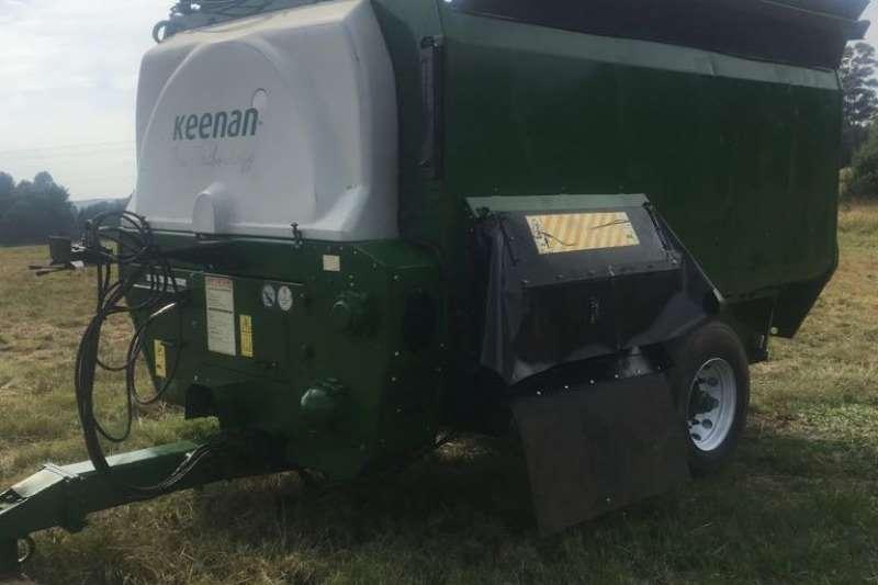 Balers Refurbished Keenan 16m with Bale Handler Hay and forage