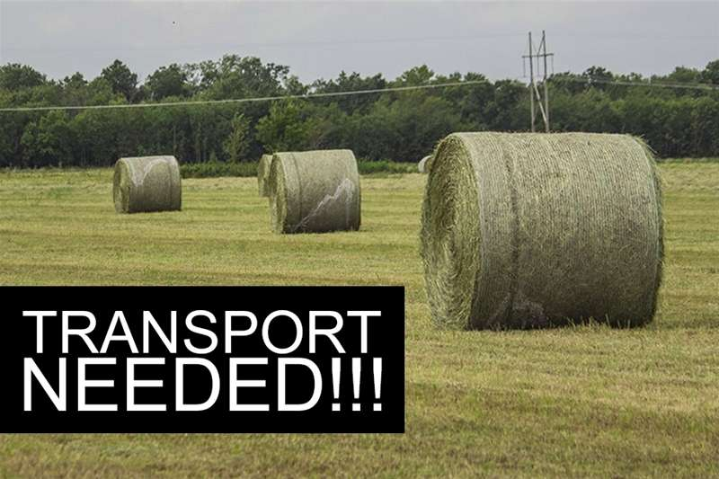 Balers Round grass bales transportation solution needed Hay and forage