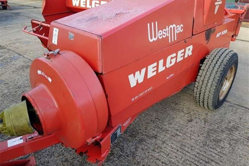 Hay and Forage Balers WELGAR 530 CONVENTIONAL 1988