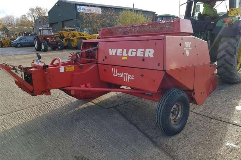 Hay and Forage Balers WELGAR 530 CONVENTIONAL BALER 1988