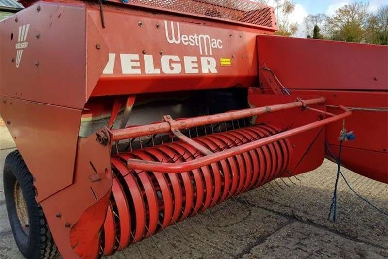 Balers WELGAR 530 CONVENTIONAL BALER Hay and forage