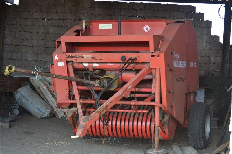 Balers welger rp120 baler Hay and forage