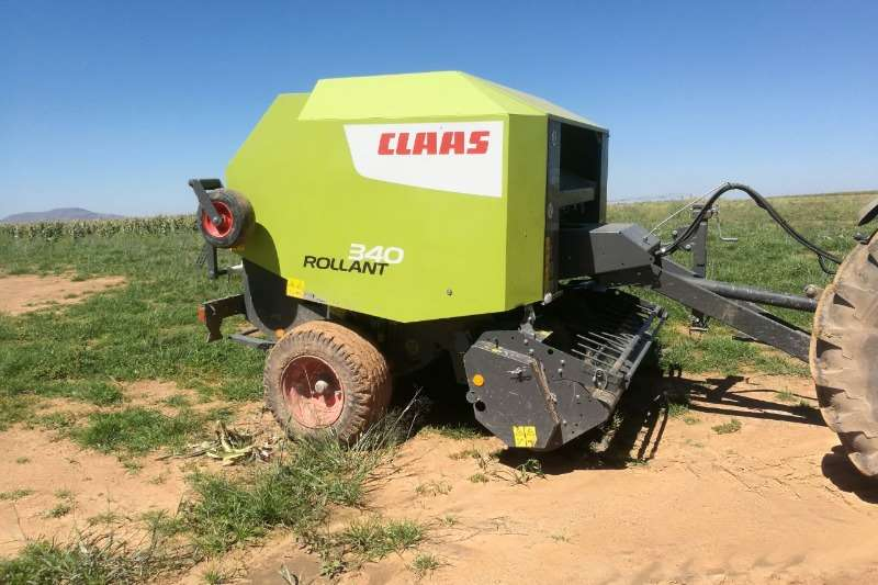 Hay and Forage Claas Balers 2014 Claas Roland Tou Baller. Hy het 9100 balle ge 2014