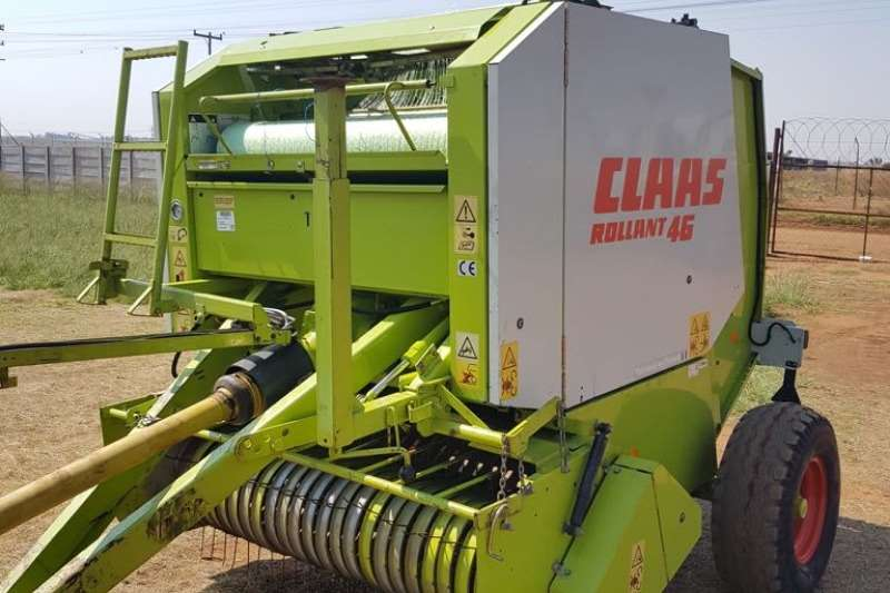 Hay and Forage Claas Balers Claas 46 0