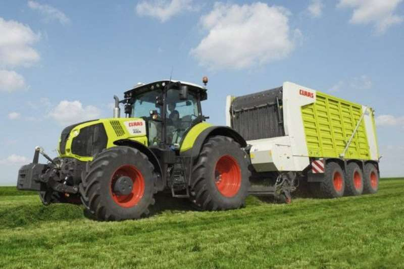 Claas CARGOS DUAL PURPOSE WAGEN Hay and forage