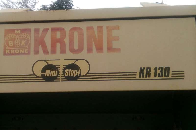 Krone Balers Krone KR 130 Ronde Baller in puik toestand. Prys R Hay and forage