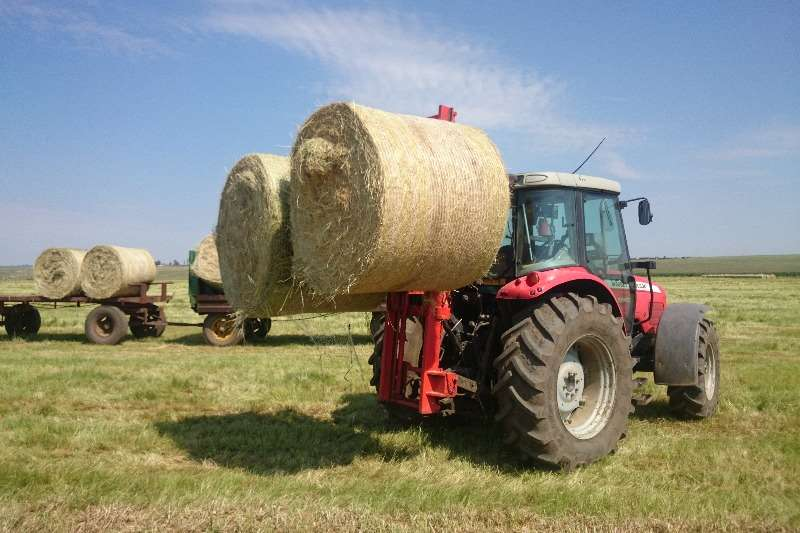 Myburgh Toerusting 3 Vaalvurk forklift attachment Hay and forage