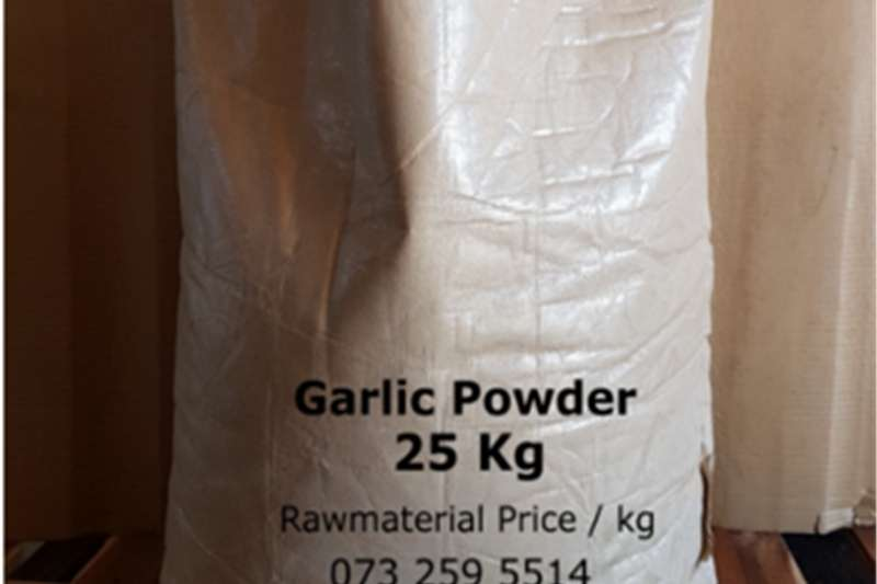 Hay and Forage Other Hay and Forage Garlic Powder Food Grade