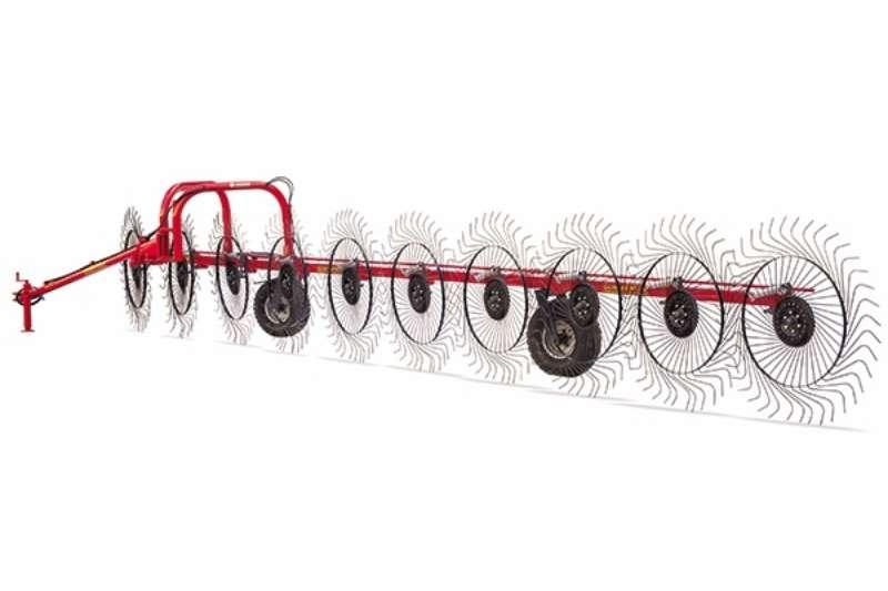 Other Rakes ILGI Single Row 11 Wheel Hay and forage