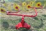 Hay and forage Rakes 4 Tol hark