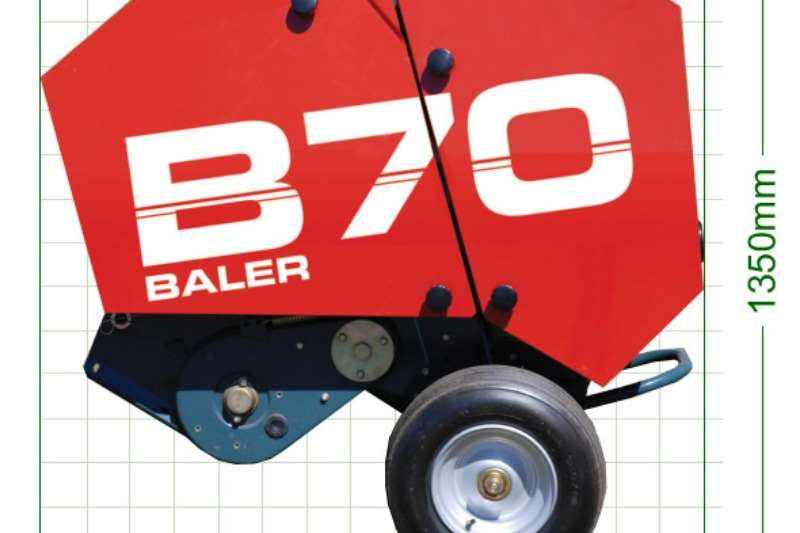 Staalmeester Balers B70 Round Baler Hay and forage