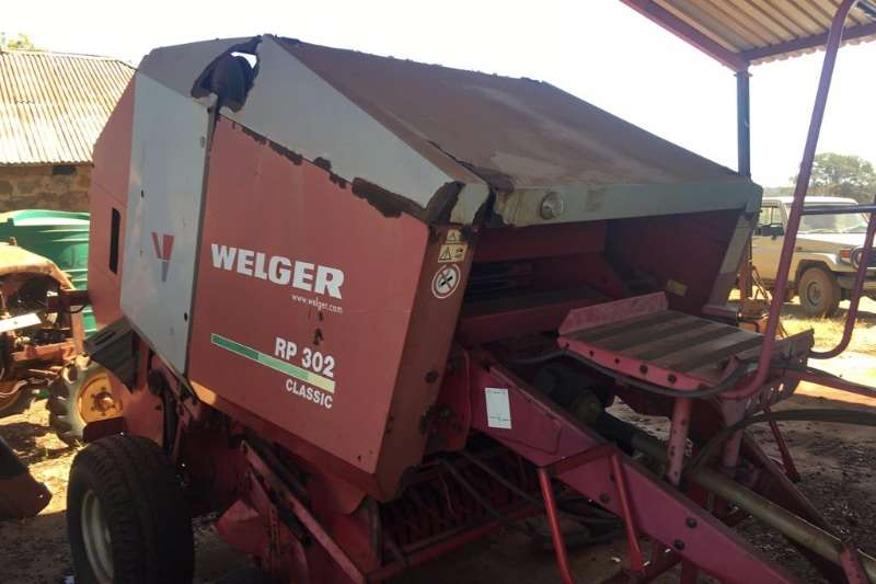 Hay and Forage Welger Balers Welger RP 302 0