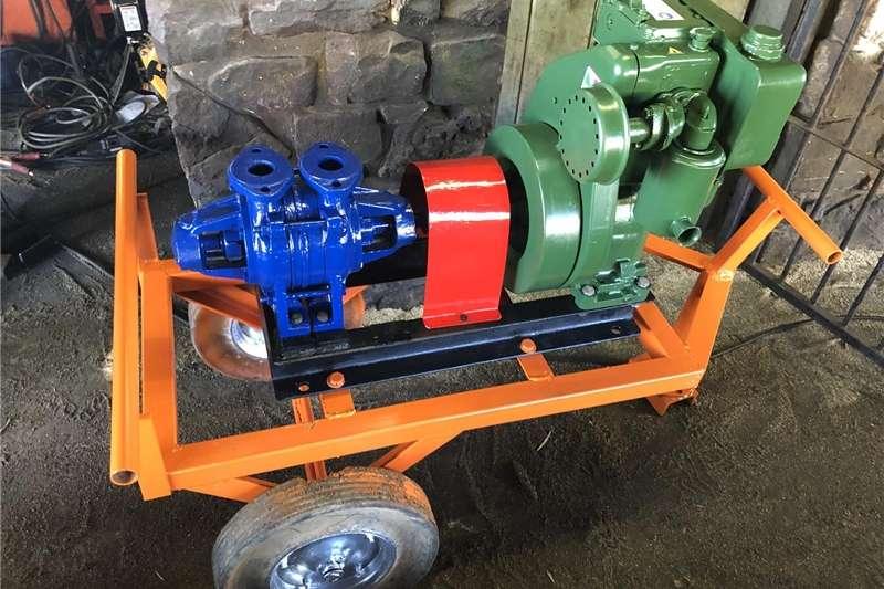Irrigation pumps Lister Diesel 4HP Diesel Water Pump Set Irrigation