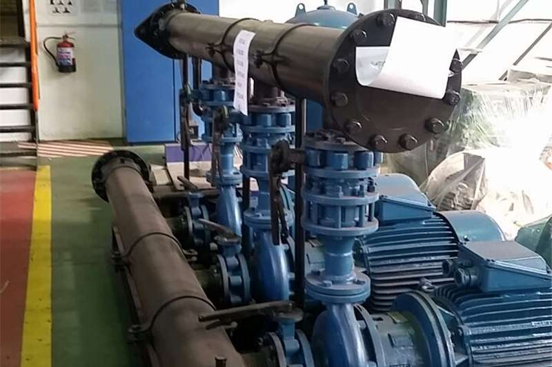 Irrigation pumps Three pumps powered by 3 x 37KW motors, this is a Irrigation