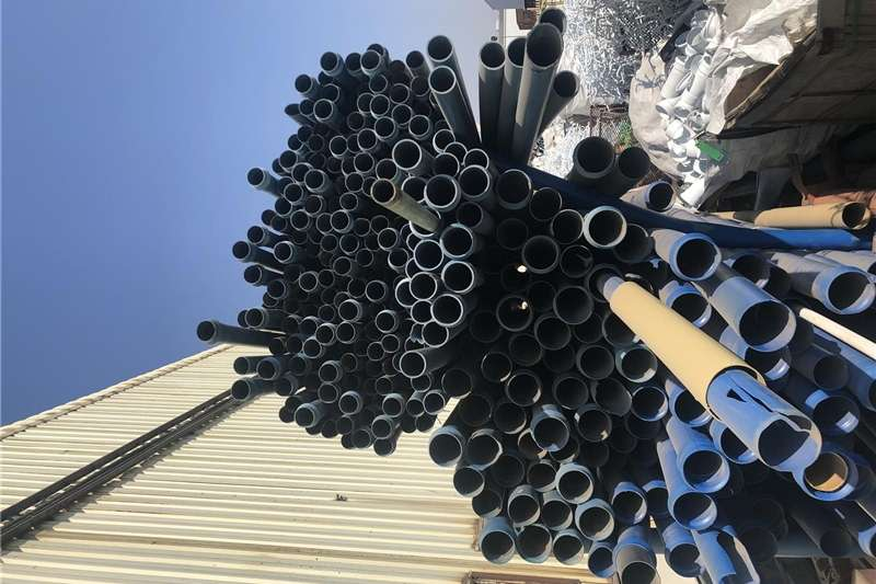 Pipes and fittings PVC  Presure pipes blue cl 6bar pressure to cl 12 Irrigation