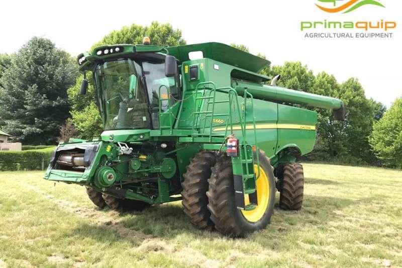 John Deere Combine Harvesters and Harvesting Equipment Grain Harvesters John Deere S 660 2014