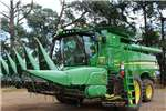 John Deere Combine harvesters and harvesting equipment Grain harvesters John Deere S 670 2016