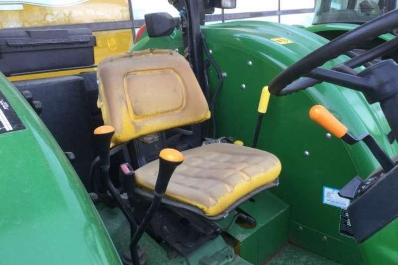 John Deere Tractors 5076 4x4 Open Station Tractor 2015