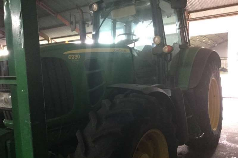 John Deere 6930 MFWD Cab Tractor Tractors