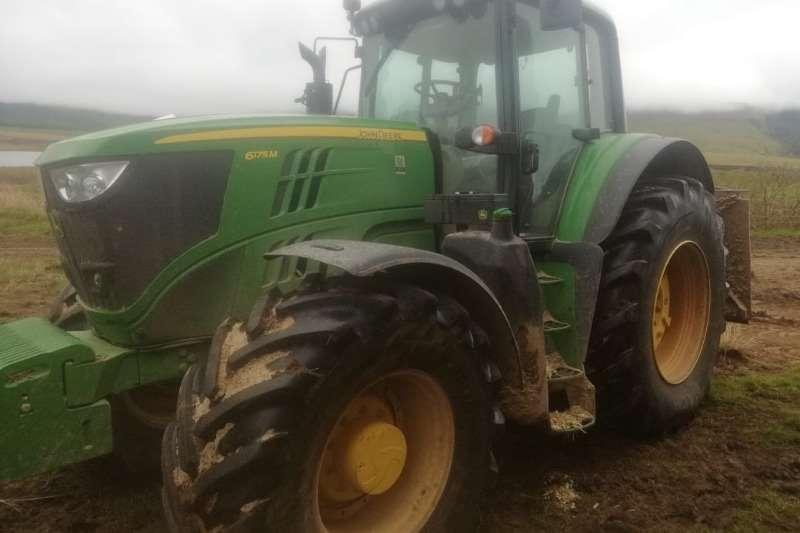 John Deere Four wheel drive tractors John Deere 6175 M Tractors
