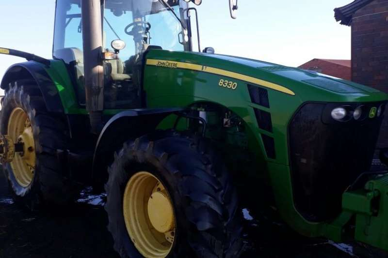 John Deere Four wheel drive tractors John Deere 8330 Tractors