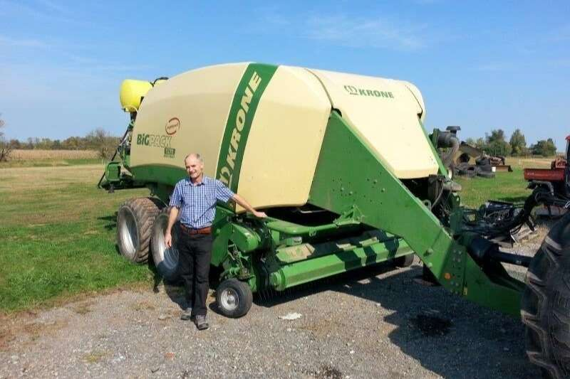 Krone Hay and Forage Balers 1270 Baler (SOLD)