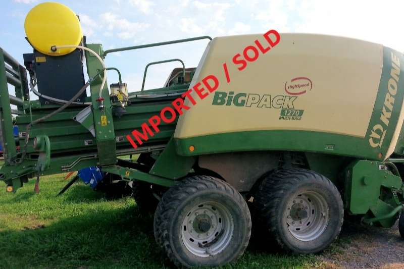 Krone Balers 1270 Baler (SOLD) Hay and forage