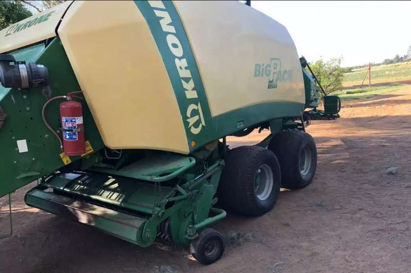 Krone Balers BIG PACK FOR SALE Hay and forage