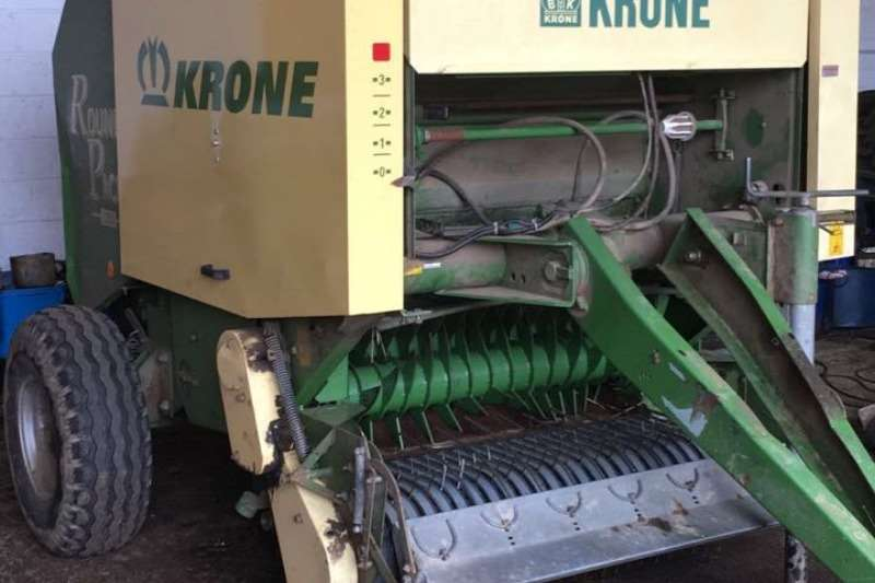 Krone Hay and Forage Balers Krone 1250 Round