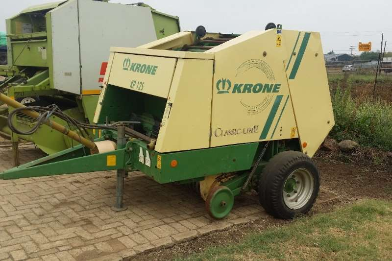 Krone Hay and Forage Balers Krone KR 125 Baler
