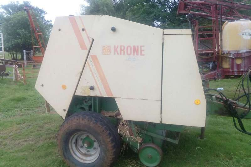 Krone Hay and Forage Balers Krone KR 130 Ronde Baller in puik toestand. Prys R