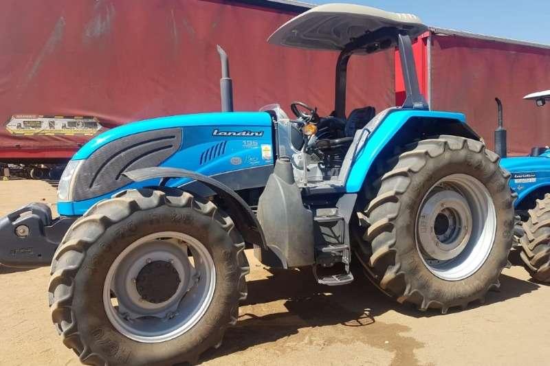 Landini Four wheel drive tractors 135 Tractors