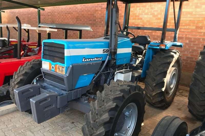 Landini Four wheel drive tractors Landini 5860 Tractors
