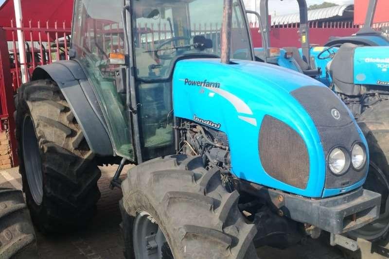 Landini Four wheel drive tractors Landini 95 Cab Tractors