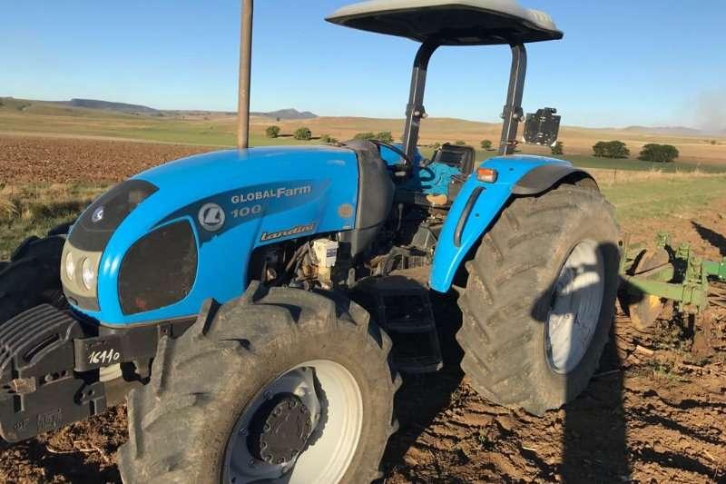 Landini Tractors Four Wheel Drive Tractors Landini Global Farm 100 2013