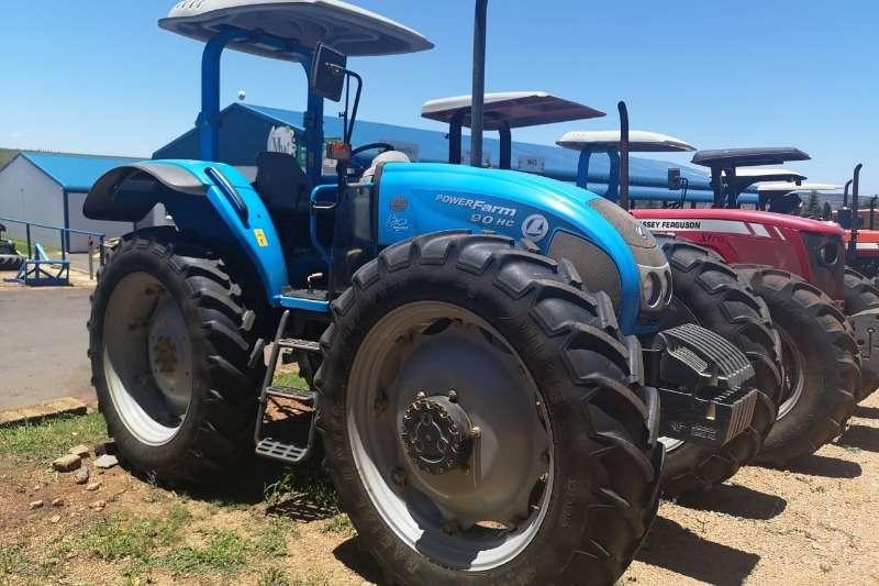 Landini Four wheel drive tractors Landini Powerfarm DT90 High Clearance Tractors