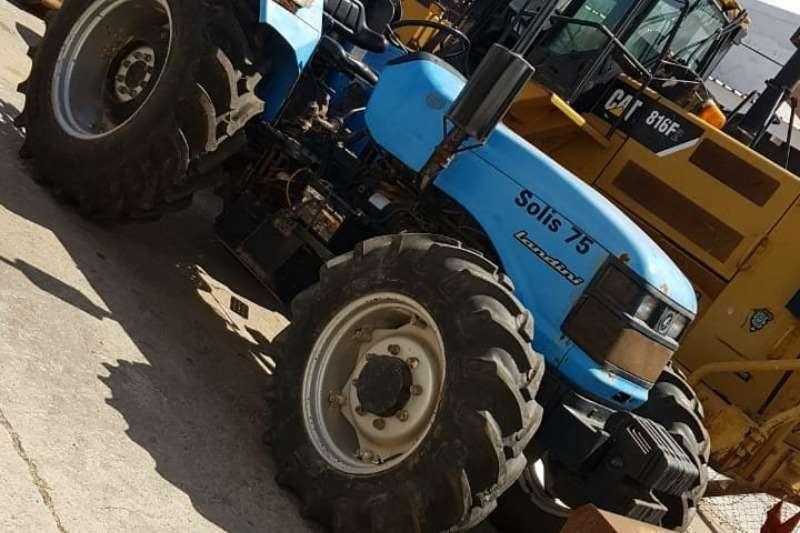Landini Four wheel drive tractors Landini Solis 75 tractors 4x4, 55kw  x4 Units A Tractors