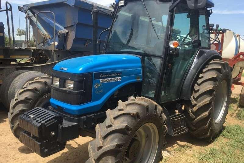 Landini Four wheel drive tractors Landini Solis 90/4 Cab Tractors
