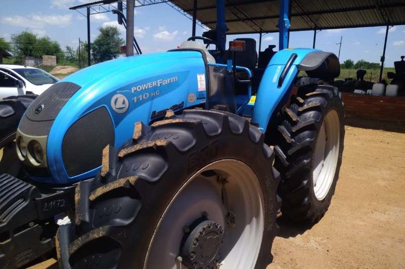 Landini Tractors Four Wheel Drive Tractors Powerfarm 110 High clearance 2014