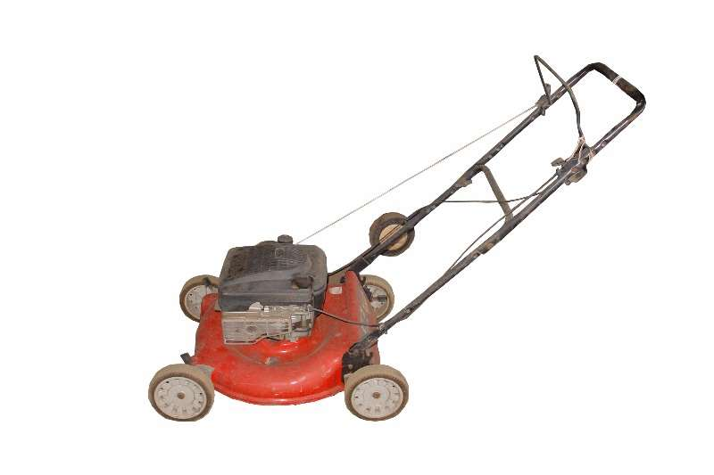 Lawn Equipment Ariens Push Mower.
