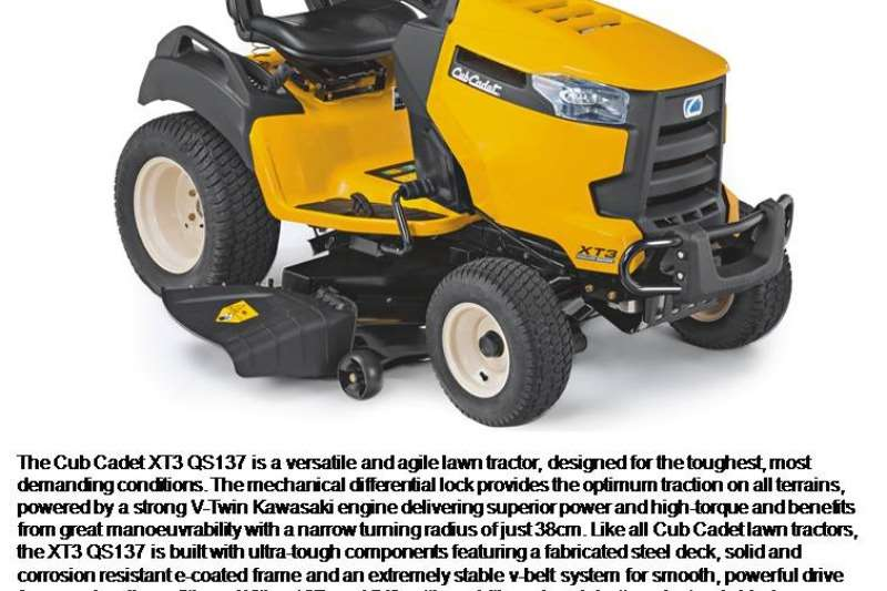 Cub Cadet Ride On Mowers And Accessories Lawn Equipment